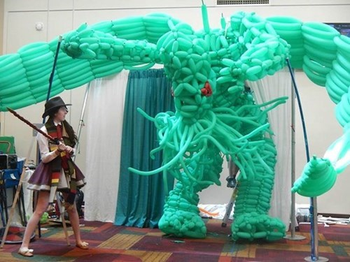 cosplay,cthulhu,classic who,gencon,balloon
