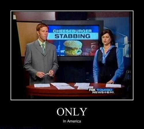 wtf cheeseburger funny stabbing - 7769094144