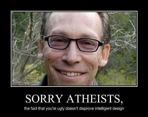 intelligent design atheism funny - 7769114624