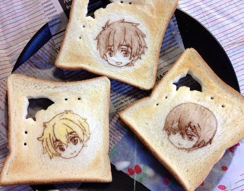 art,anime,toast