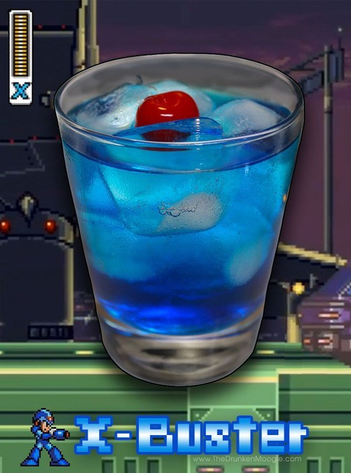 mega man x-buster video games delicious