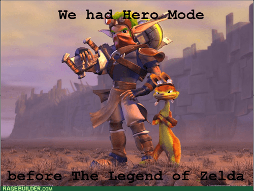 Jak II didn't really need the increased difficulty though