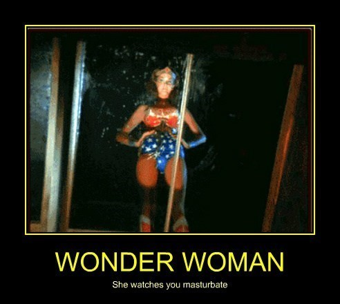 wonder woman,very demotivational,faptimes