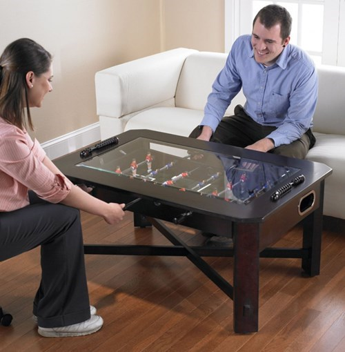 coffee table,design,foosball,funny