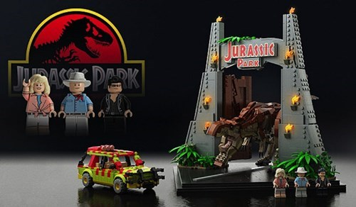 lego nerdgasm jurassic park funny g rated win - 7769546752