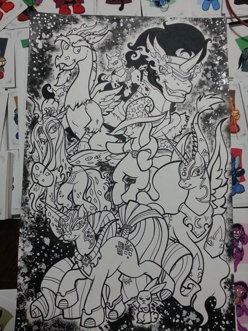 art awesome villains - 7769786112