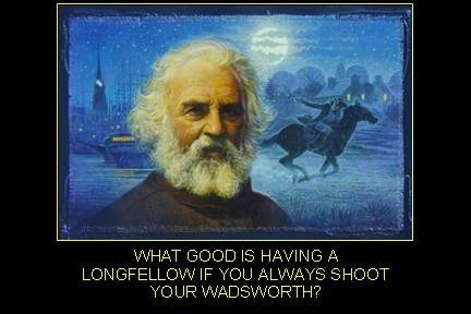 literature english american funny longfellow - 7770505984