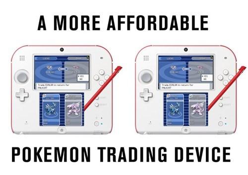 Pokémon,2DS,trading