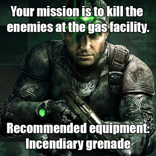 Splinter Cell video game logic - 7770773248
