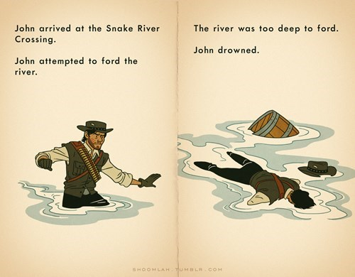 crossover,oregon trail,red dead redemption