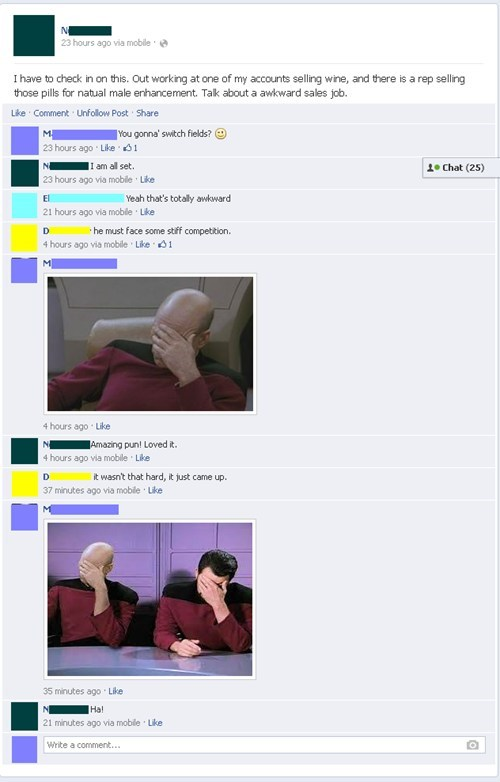 thats what she said facepalm puns - 7770790912
