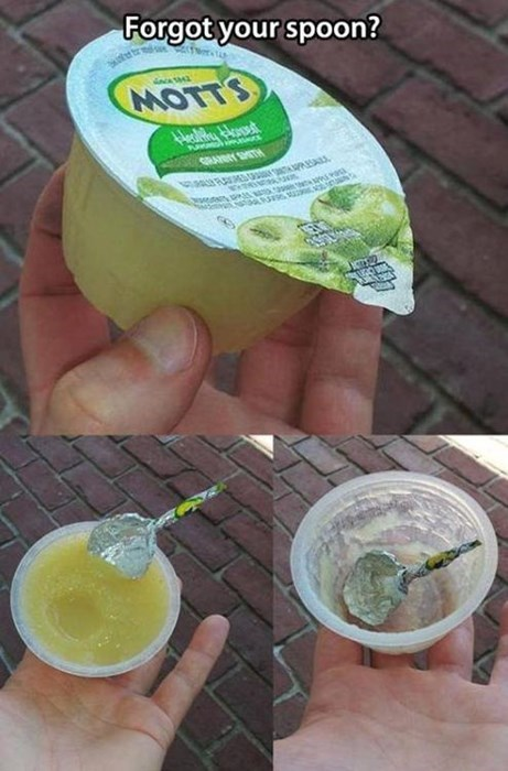 applesauce life hacks spoons - 7770974208