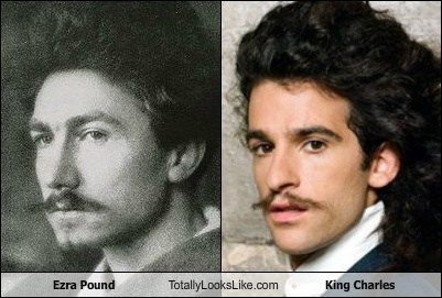 king charles,totally looks like,ezra pound,funny