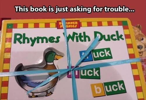 rhymes,books