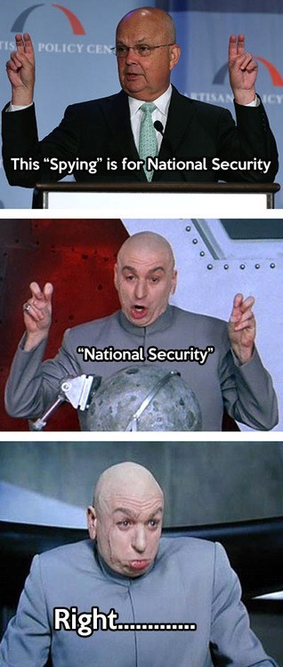 quotes,NSA,dr-evil,Memes