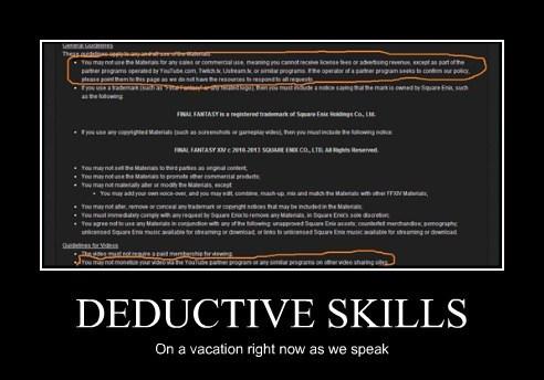 DEDUCTIVE SKILLS