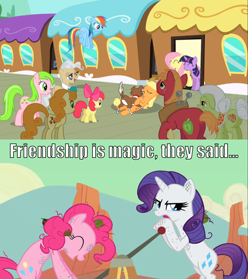 friendship is magic mane six - 7771315456