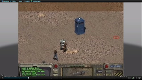 fallout,doctor who,video games