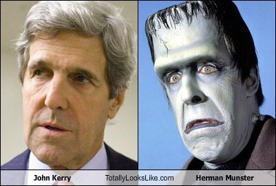 totally looks like John Kerry herman munster funny - 7771643648