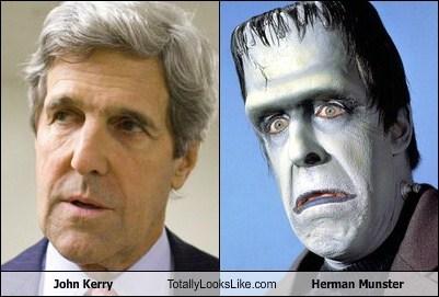 totally looks like John Kerry herman munster funny - 7771643648
