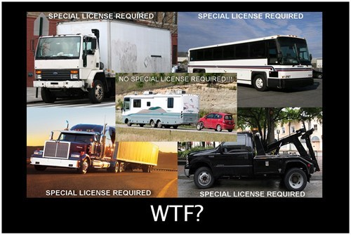rv funny license trucks - 7771663104