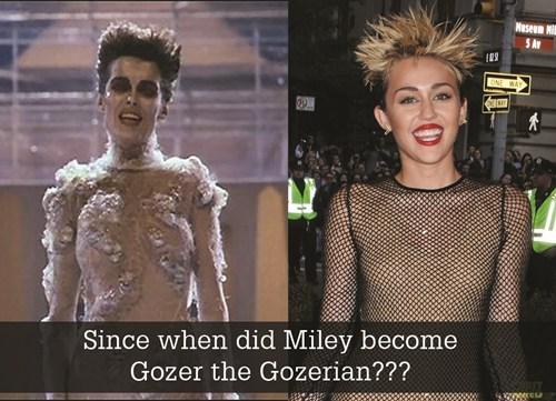 MTV VMAs Ghostbusters miley cyrus gozer gozerian - 7772448512