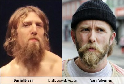 daniel bryan,totally looks like,varg vikernes,beards,funny