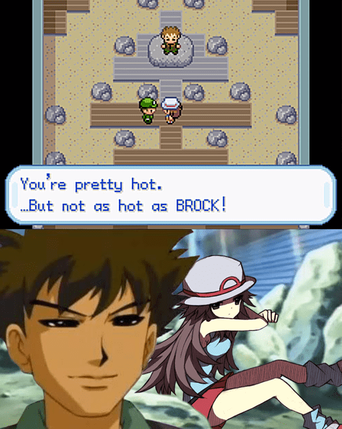 brock,gameplay,handsome