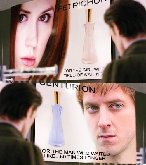 rory pond rory williams the girl who waited 11th Doctor amy pond centurion - 7773374720
