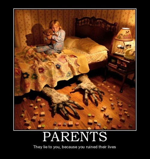 monster,jerks,funny,parents