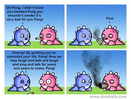 smoking funny dinosaurs