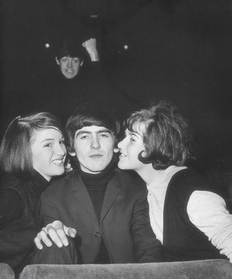 beatles,paul mccartney,george harrison