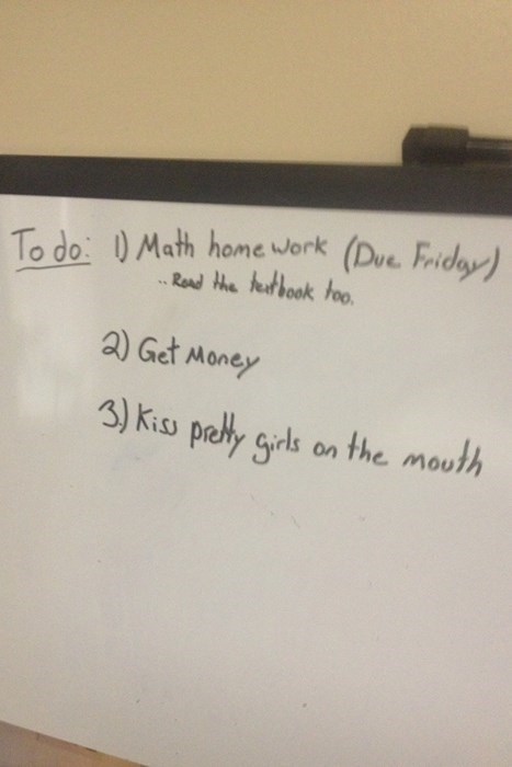 good idea math funny to-do list