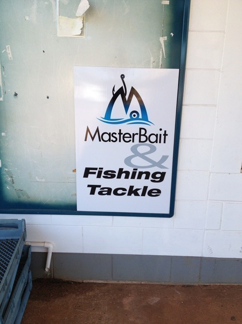 bait puns business funny tackle - 7773585920