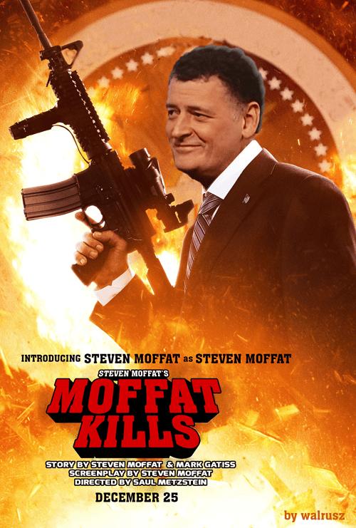 moffat kills 11th Doctor doctor who Steven Moffat - 7773634816