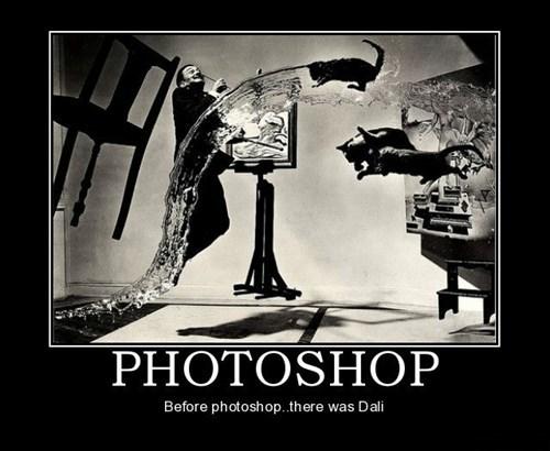 salvador Dali photoshop funny - 7773999104
