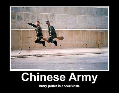Harry Potter,chinese army,funny