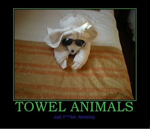 towel funny animals - 7774033920