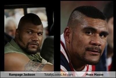 Rampage Jackson,mose masoe,totally looks like,funny