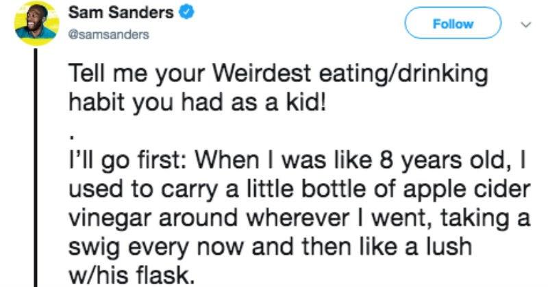 weird snacks kids eat