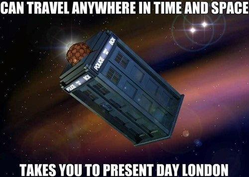 scumbag London tardis doctor who - 7774636800