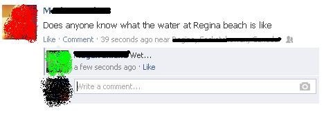 captain obvious,water,beach,sand,regina beach