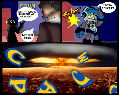 mighty no.9 capcom - 7775012864