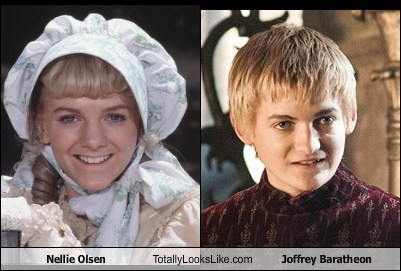 joffrey baratheon totally looks like nellie olsen funny - 7775075328