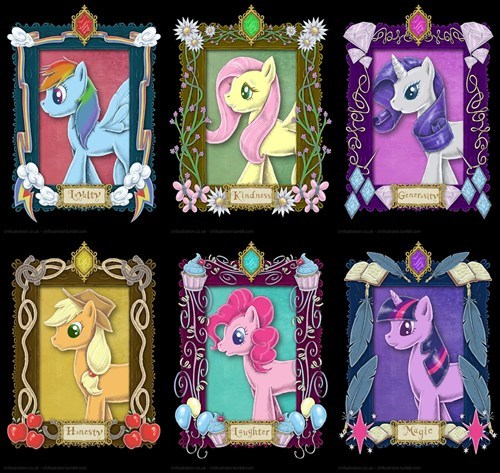art portraits mane six - 7775160576