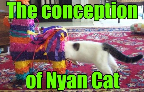 The conception of Nyan Cat
