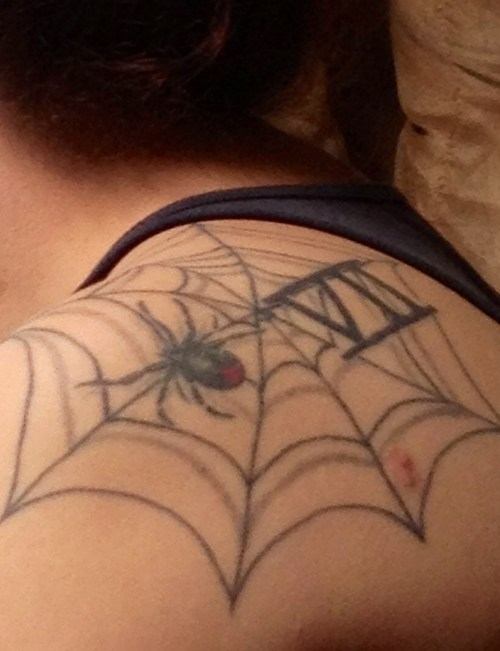 spiders tattoos Spider-Man funny - 7775363072