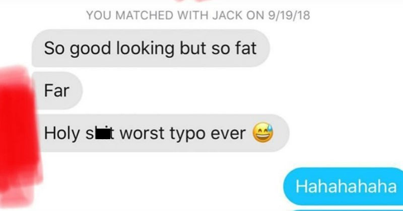 nightmare tinder conversations that might scar you for life, or strangely arouse you. Could go either way folks