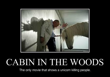 movies,unicorns,Cabin in the Woods
