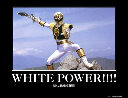 power rangers white funny - 7775982336